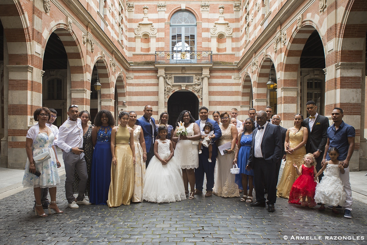 photographe mariage toulouse / photo de groupe