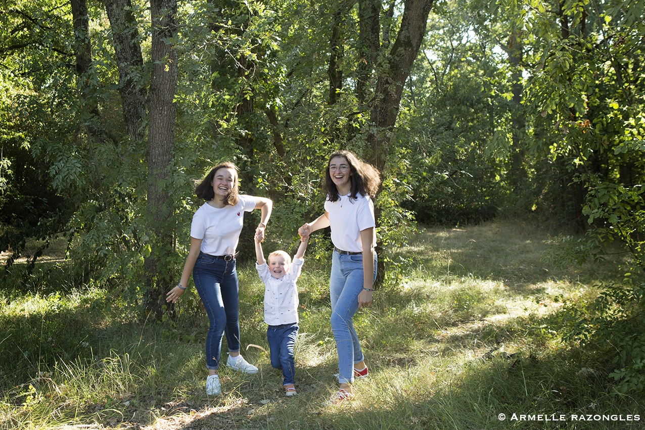 photographe famille Toulouse - Photographe fratries toulouse